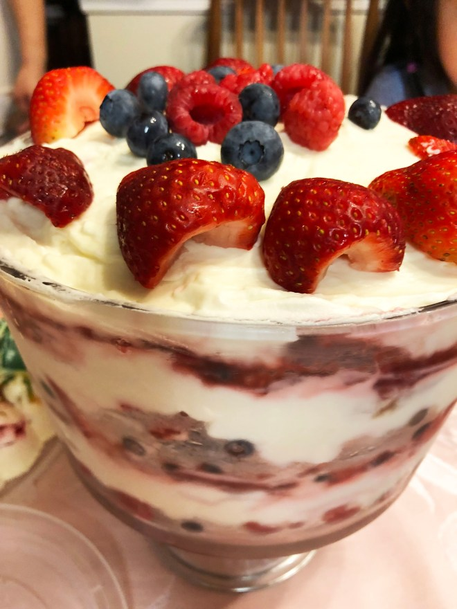 Berry Trifle 8