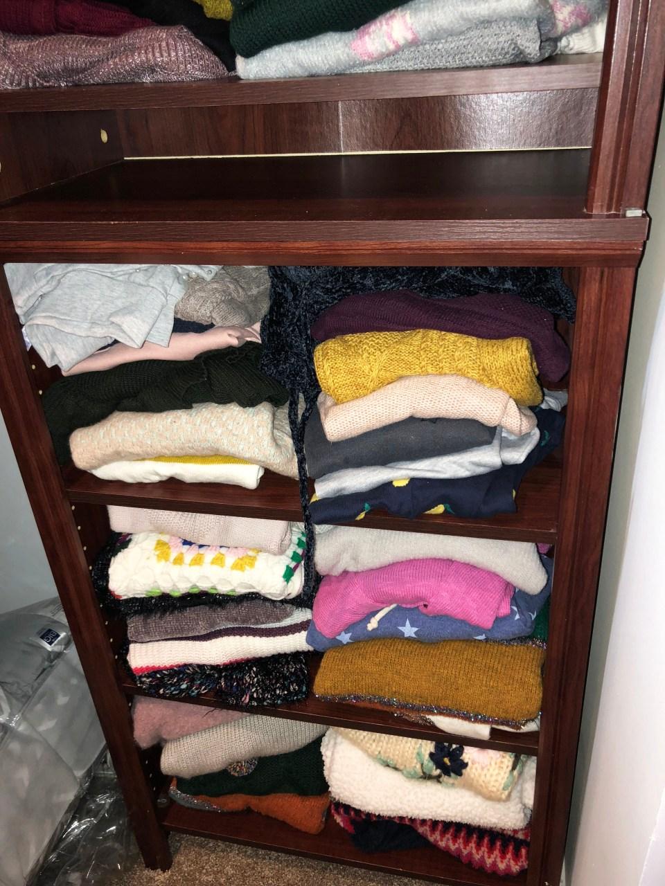 Closet Shelf 1