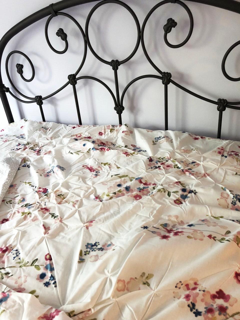 Floral Origami Comforter
