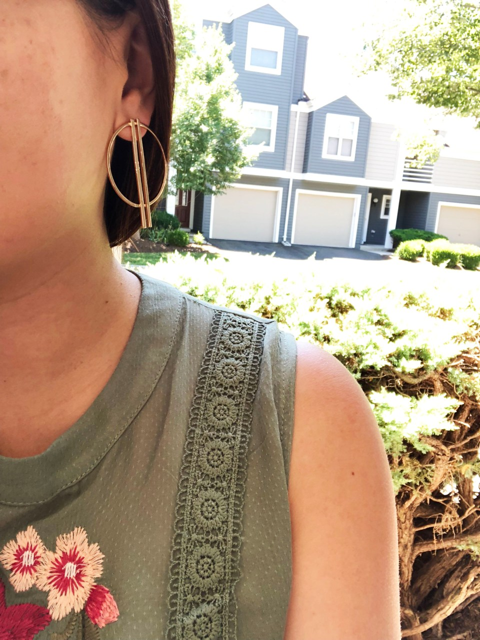 Hoop Bar Earrings