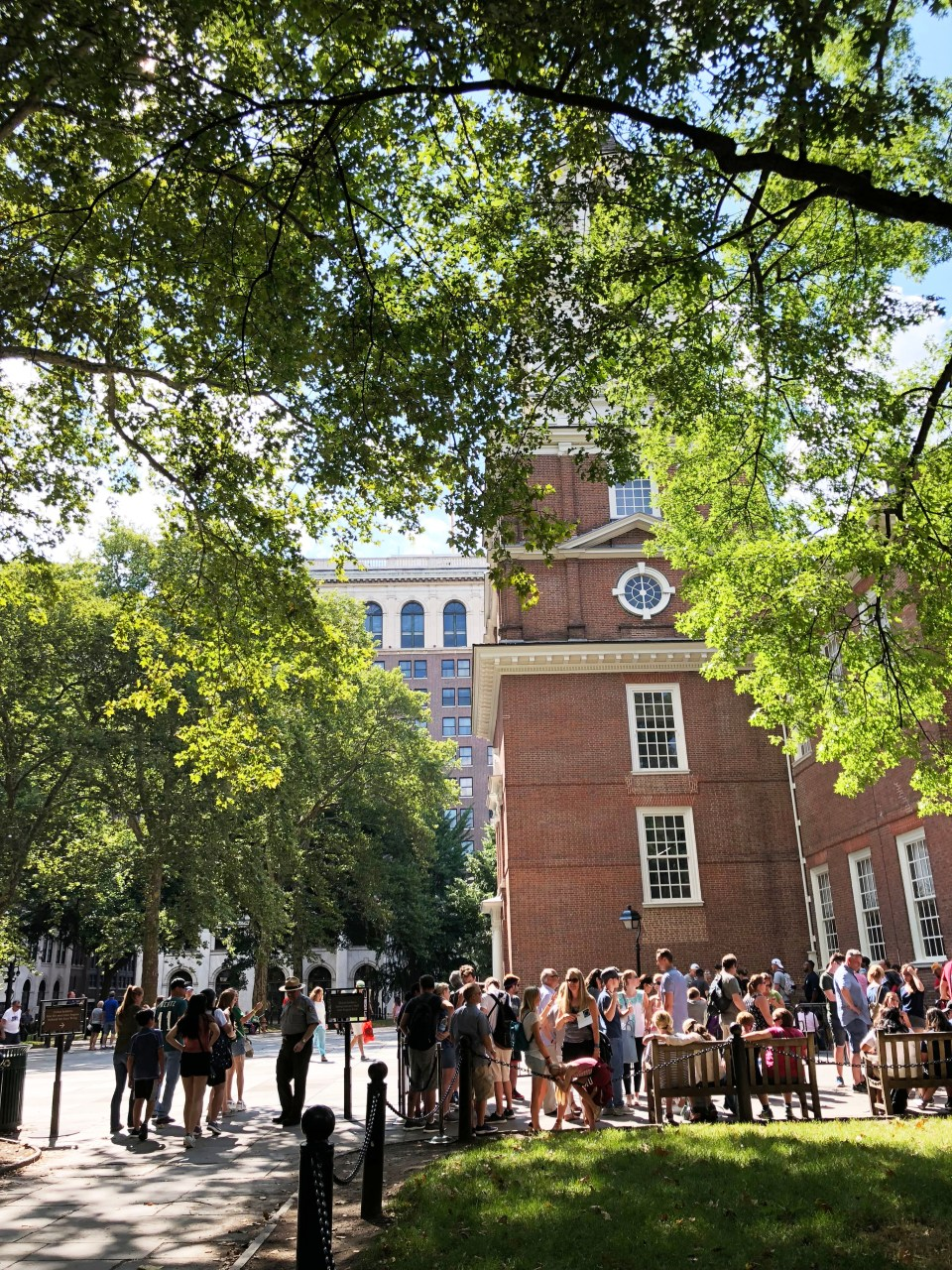 Independence Hall line