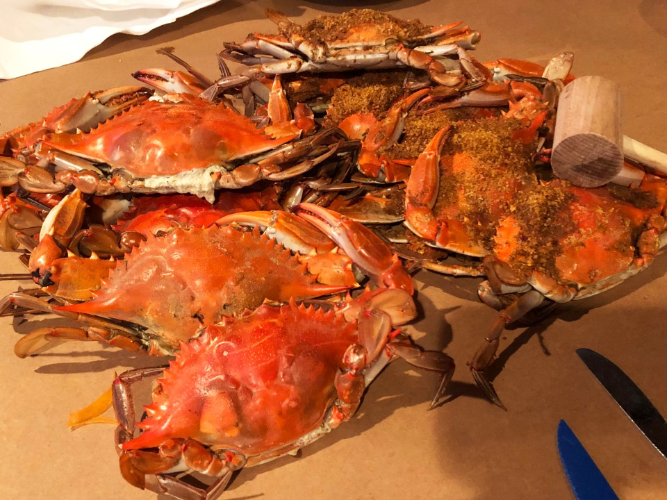 Nick's Fish House - Crabs