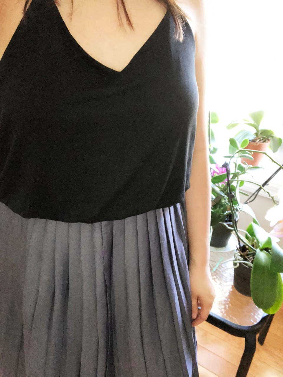 Pleated Duet Dress 13