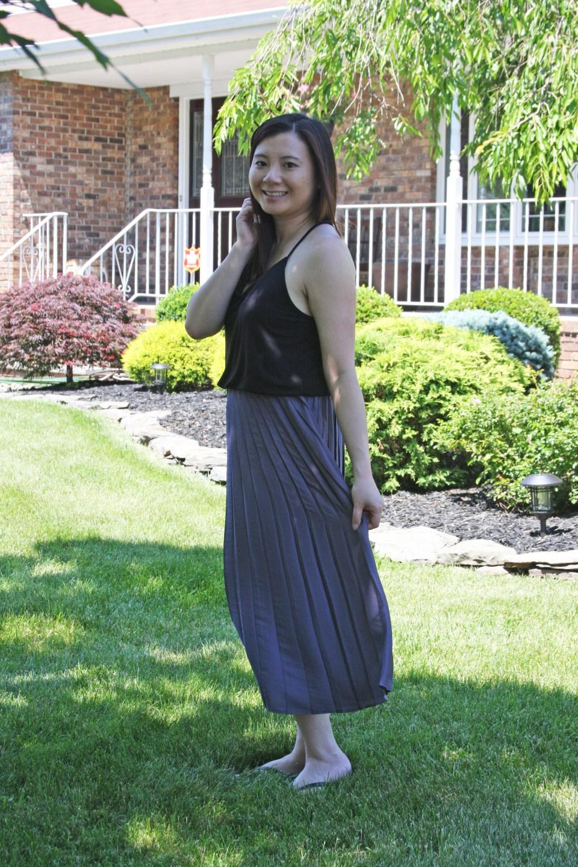 Pleated Duet Dress 3