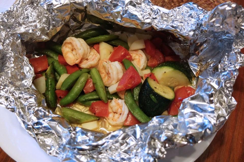 Shrimp Foil Packet 4
