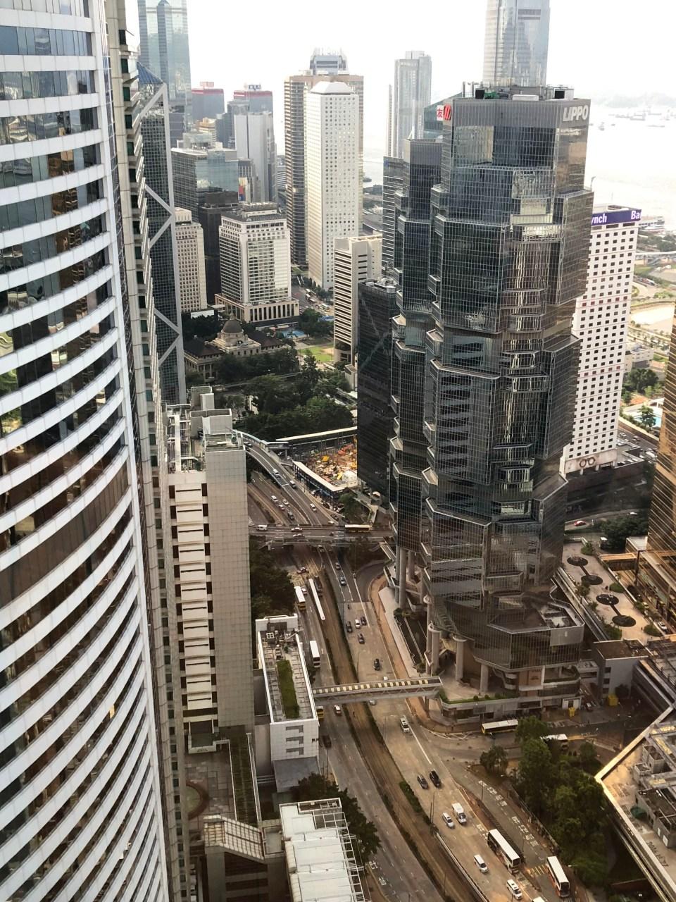 Conrad Hong Kong - room view
