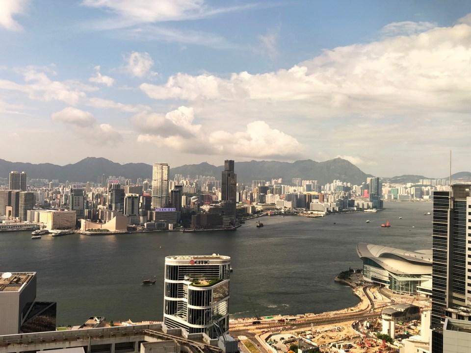Conrad Hong Kong - view