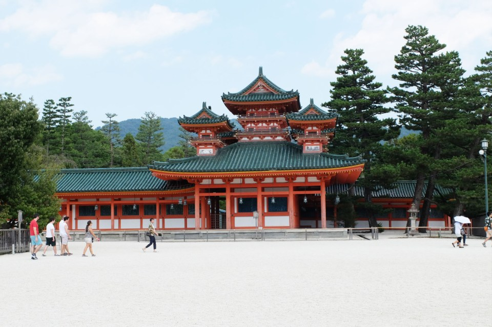Heian Jingu Shrine 6