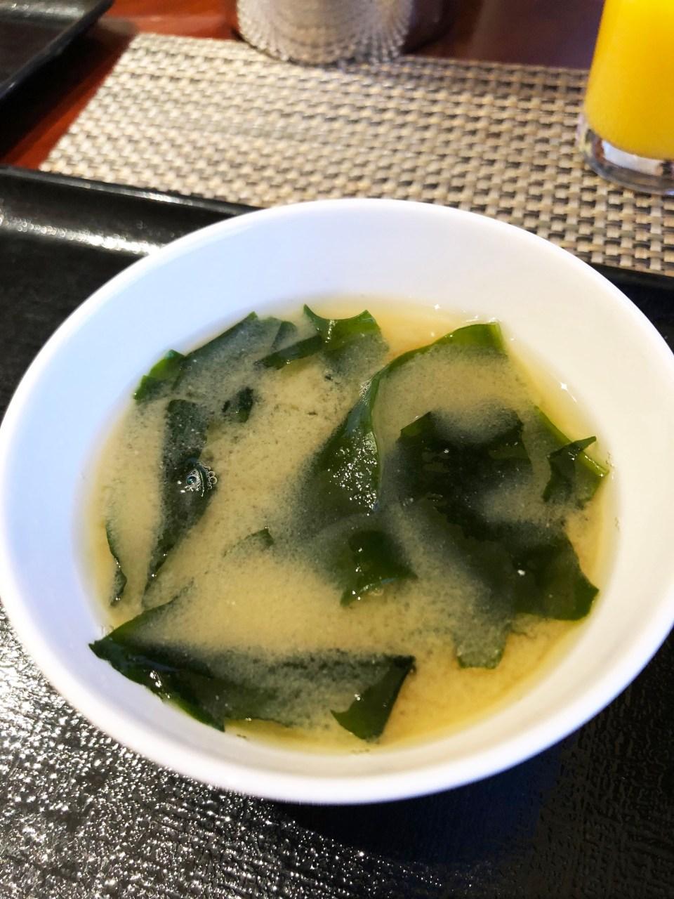 Hilton Tokyo - Miso Soup