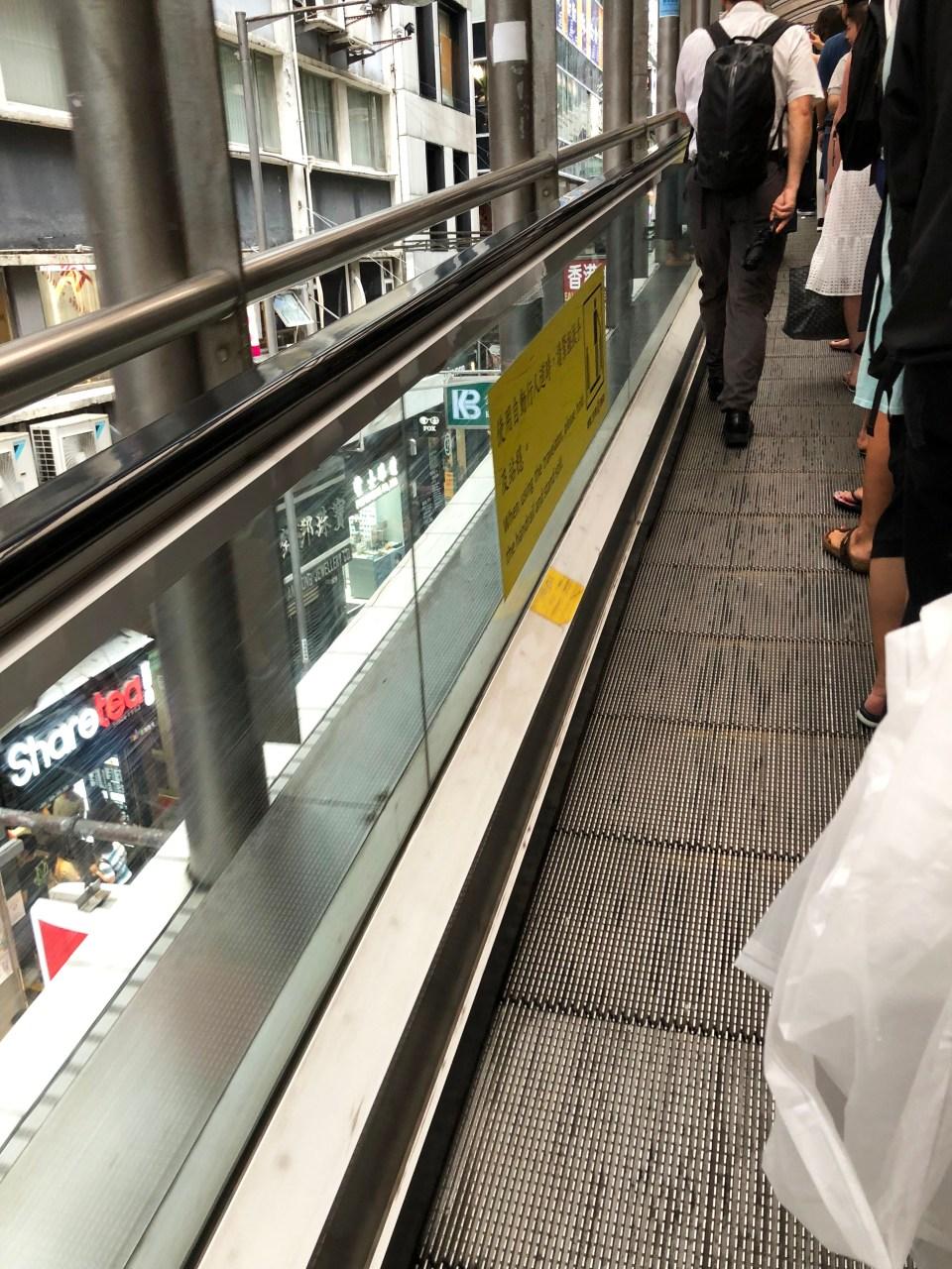 Hong Kong - Central Escalators
