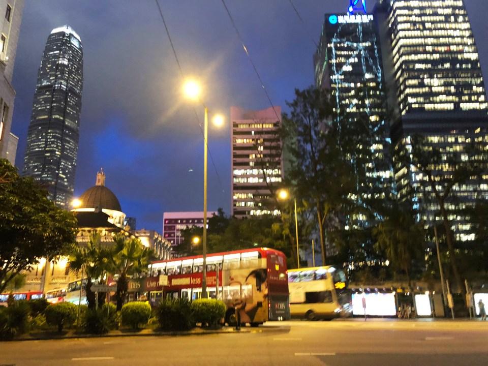 Hong Kong - Central at night 3
