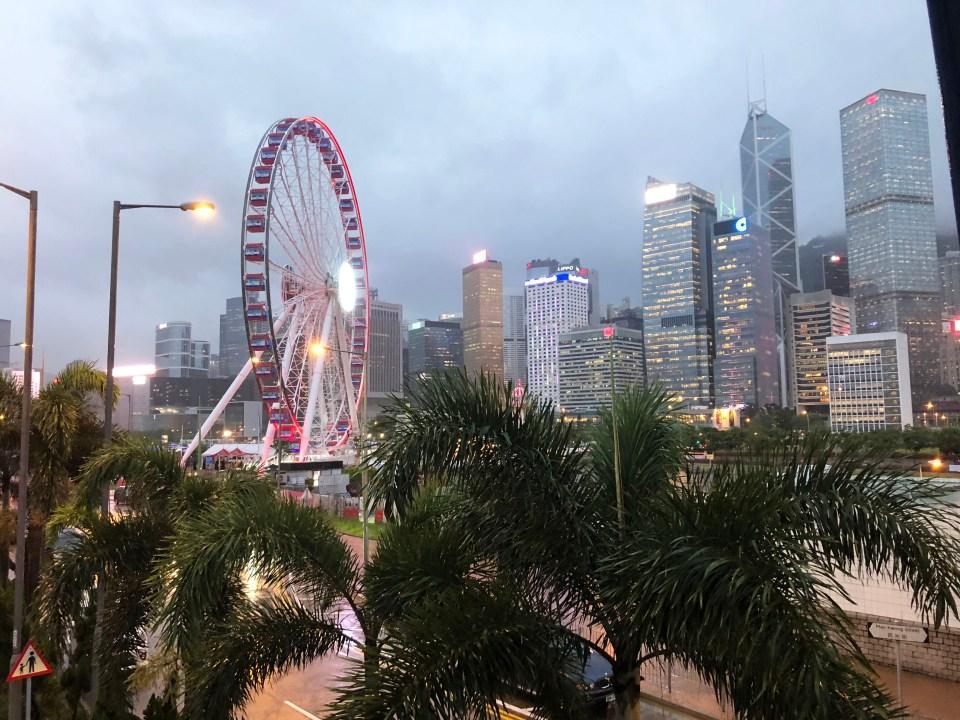 Hong Kong - ferris wheel