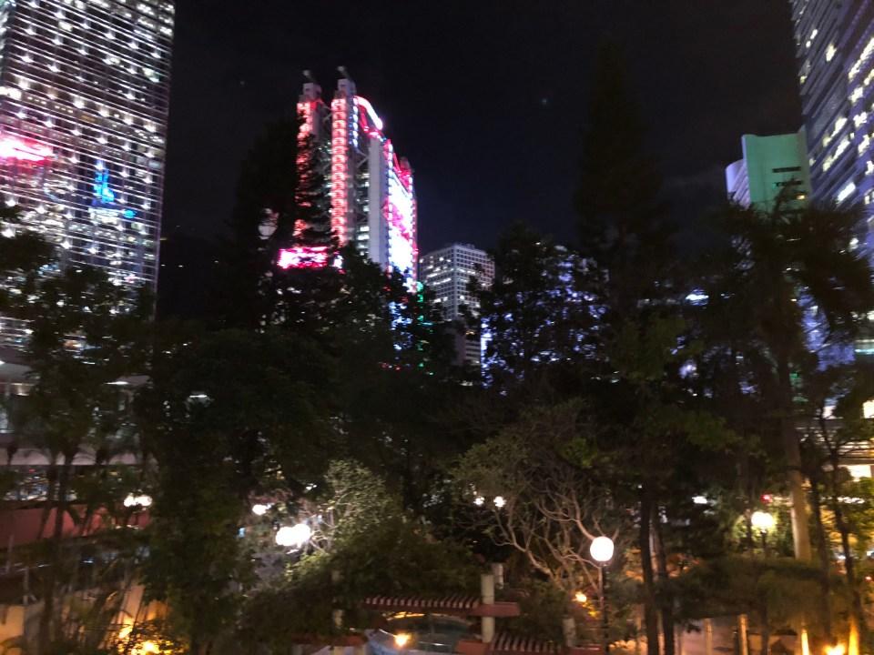 Hong Kong - night