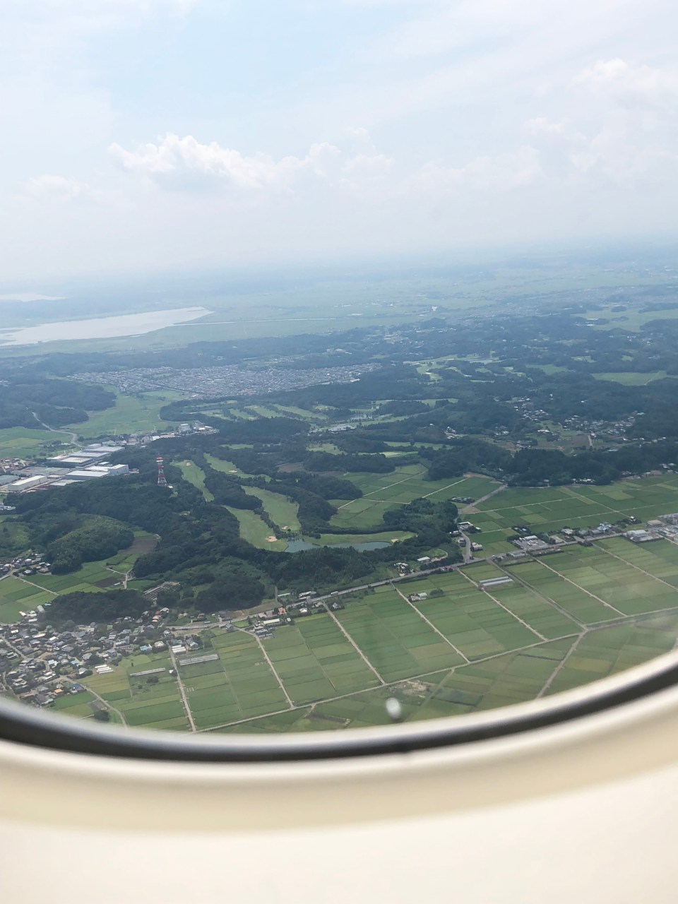 Japan - plane window