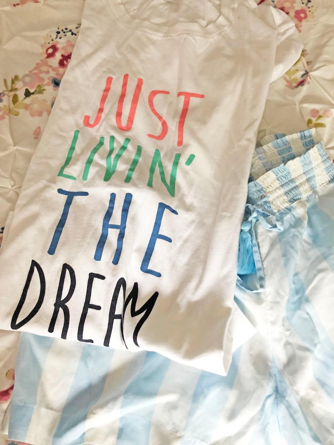 Just Livin' The Dream Pajamas