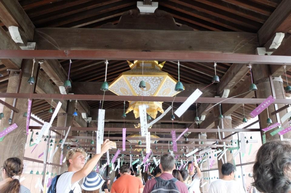Kiyomizu Temple - Bells 1
