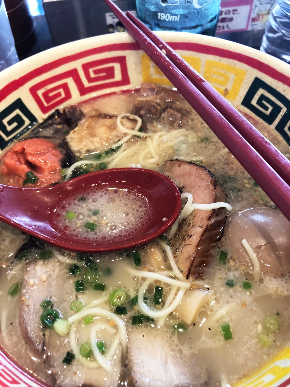 Kyushu Jangara - Ramen with Pork Broth