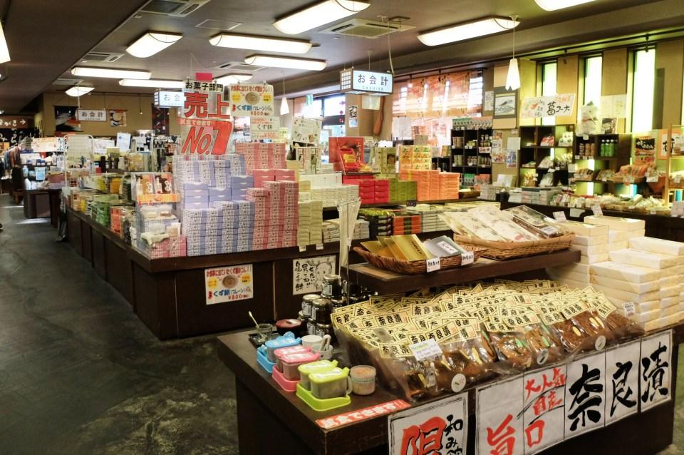 Nara souvenir shop
