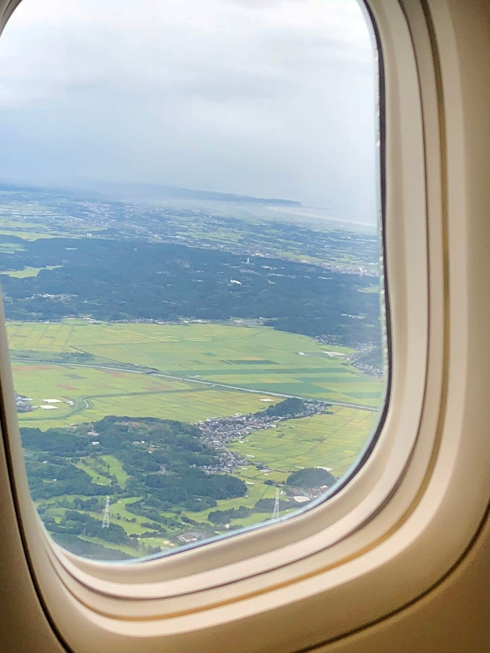 Plane Window - Japan