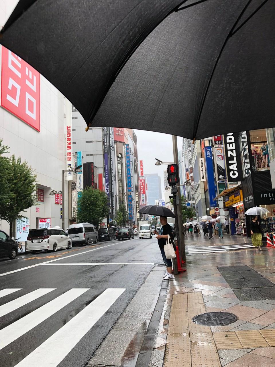 Rainy Tokyo 1