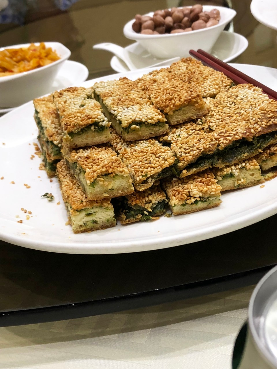 Sesame & Scallion Bars