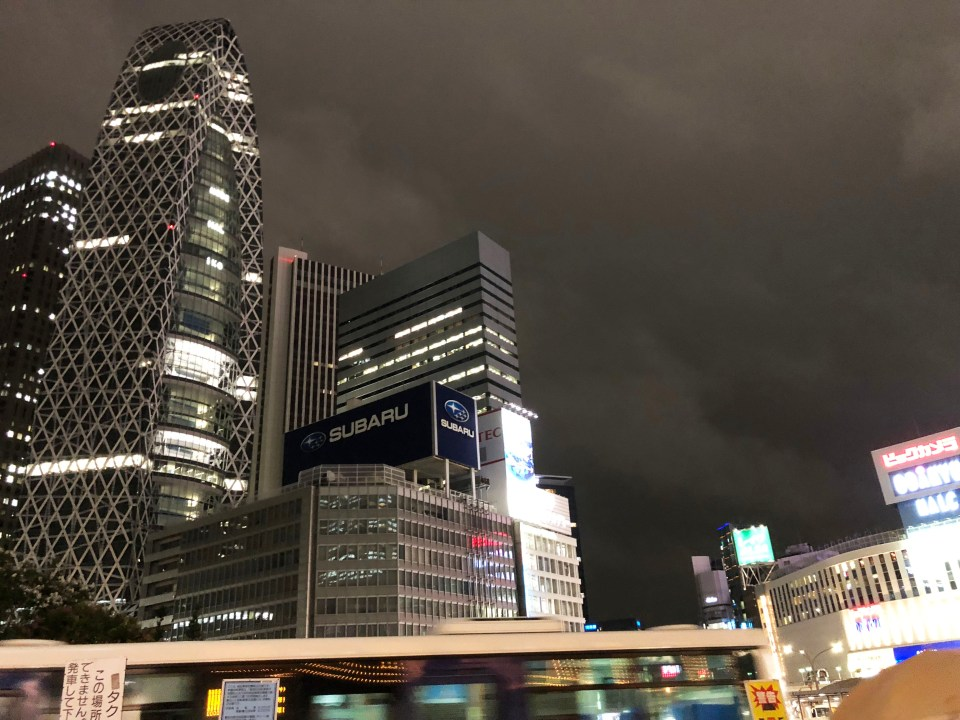 Shinjuku - night time 1