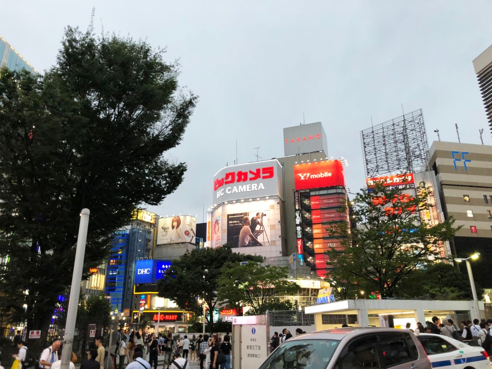 Shinjuku - night time 8