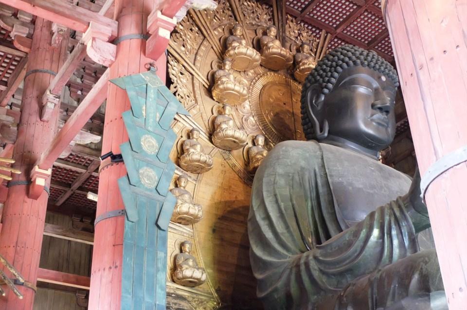 Todai-ji Temple - Buddha 2