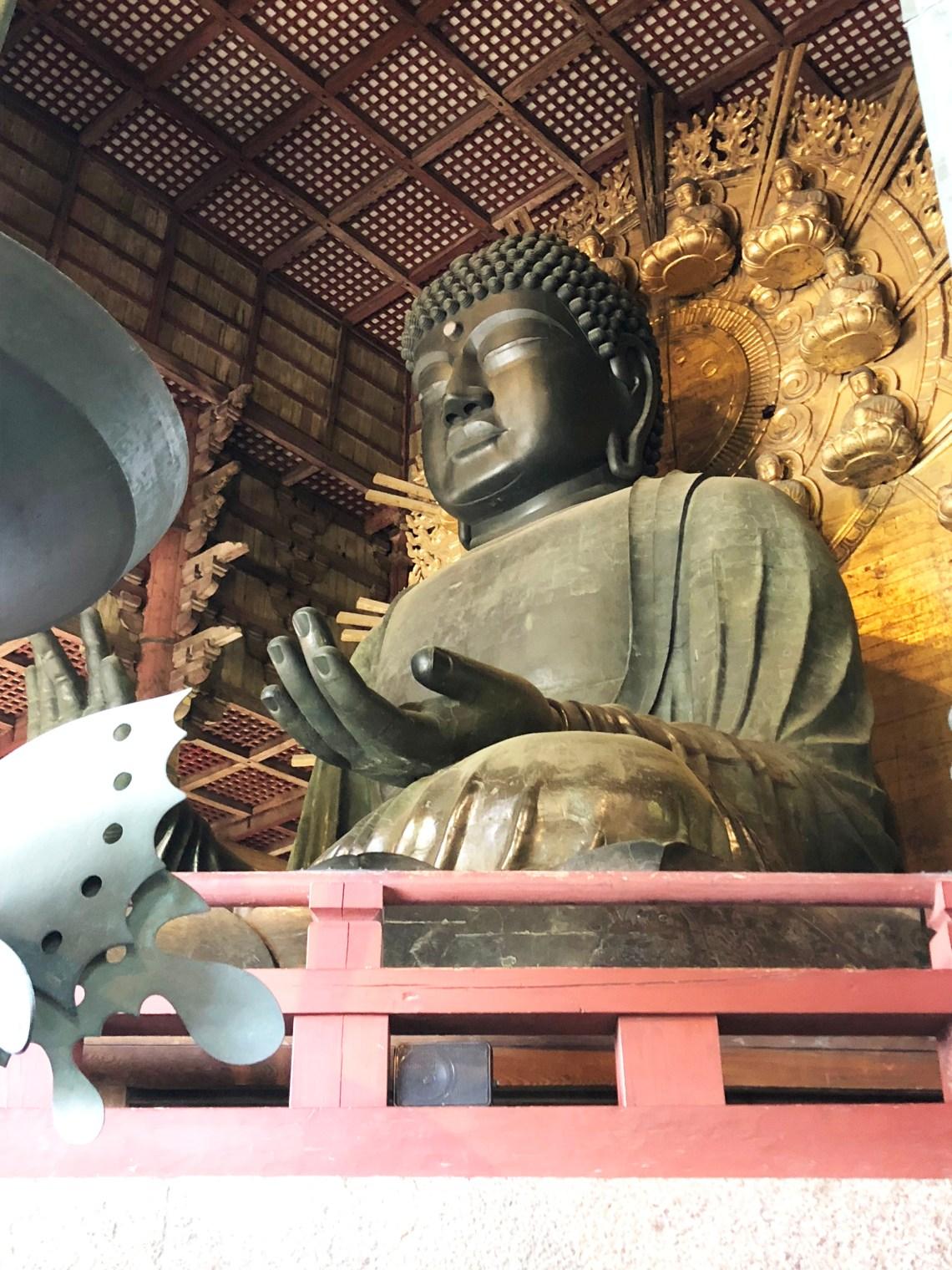 Todai-ji Temple - Buddha