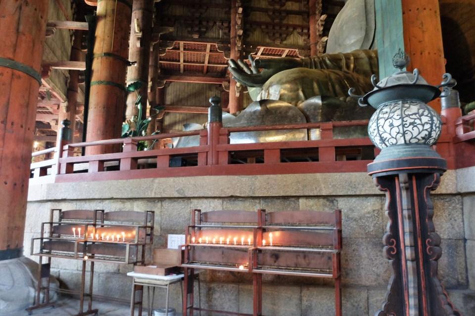 Todai-ji Temple - Candles