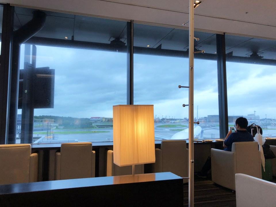 Tokyo Narita Airport - ANA Lounge