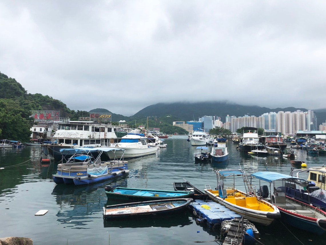 View from Lei Yue Mun