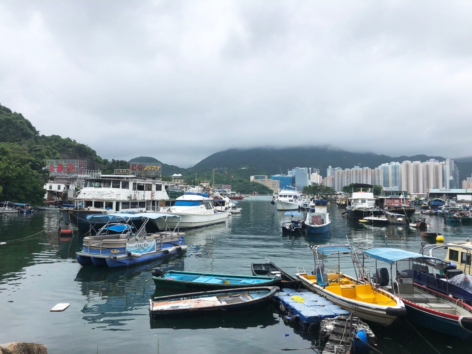View from Lei Yue Mun 1