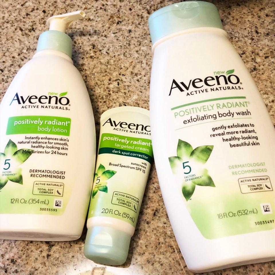 Aveeno Positively Radiant 1
