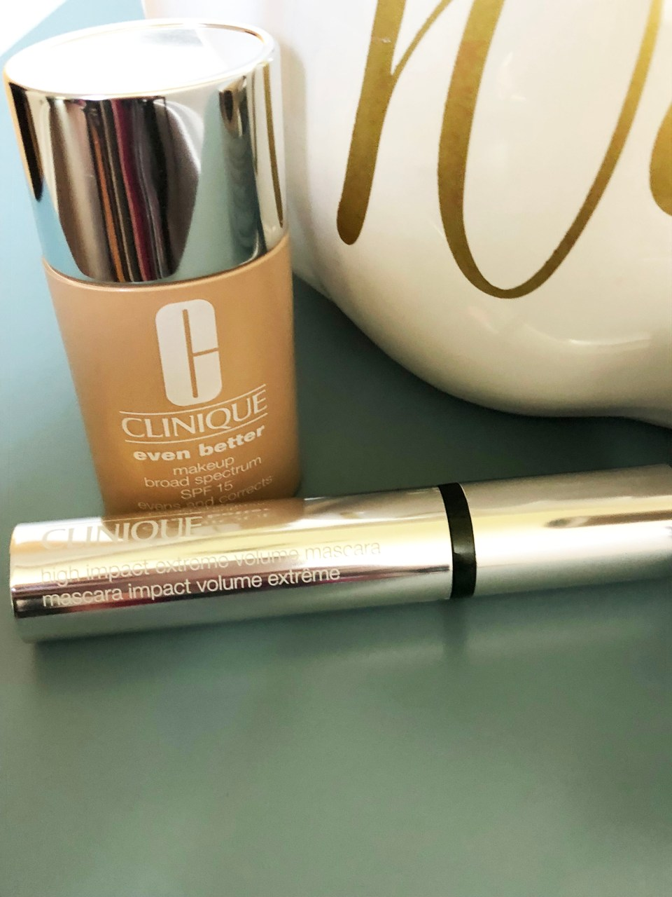 Clinique Even Better Foundation + High Impact Mascara