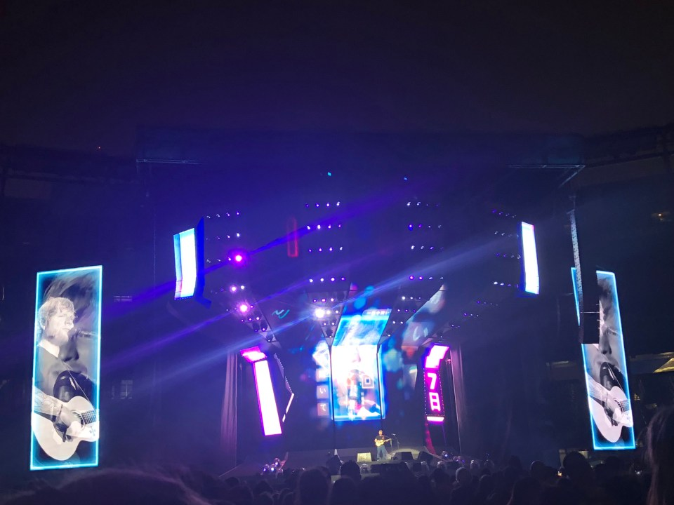 Ed Sheeran - Metlife Stadium 3