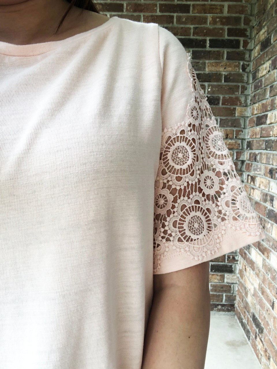 Eyelet Medallion Sleeve Top 10