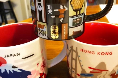 Japan & Hong Kong Starbucks Mugs