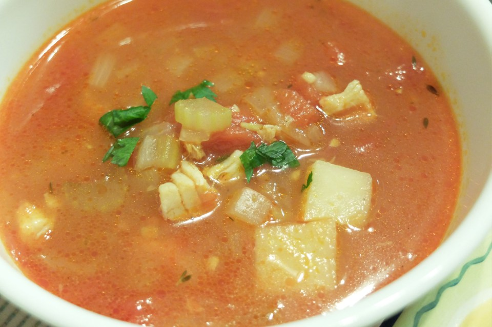 Manhattan Clam Chowder 4