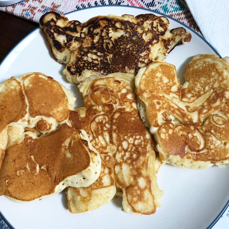 Star Wars pancakes 2