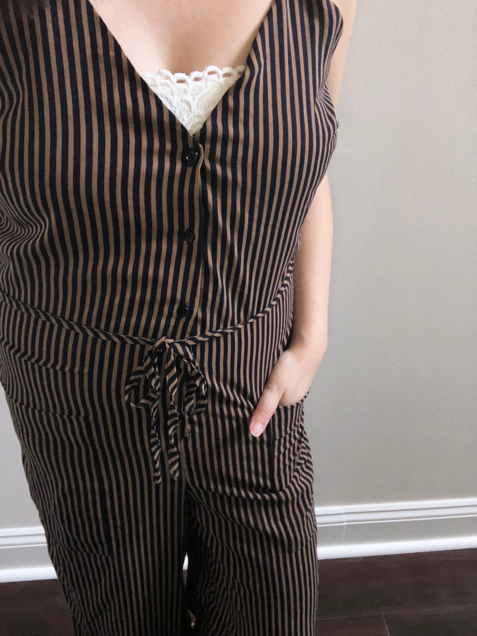 Striped Jumpsuit 12