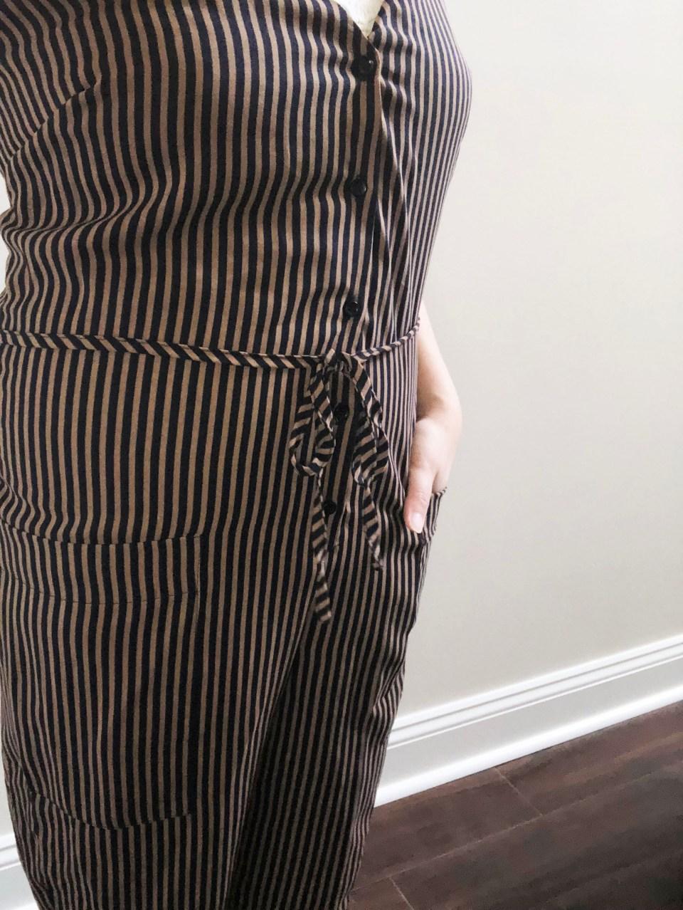 Striped Jumpsuit 13