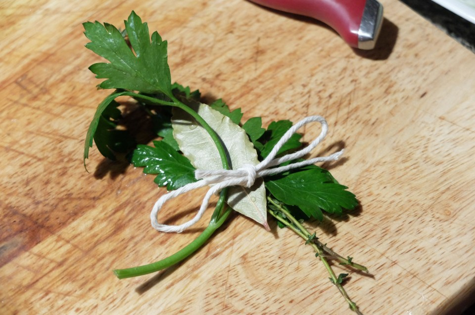 Tied herbs