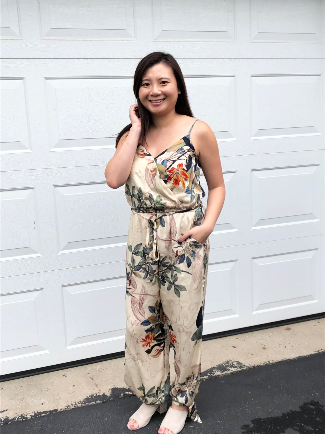d4b7642ee3 Tigerlily White And Blue Jumpsuit
