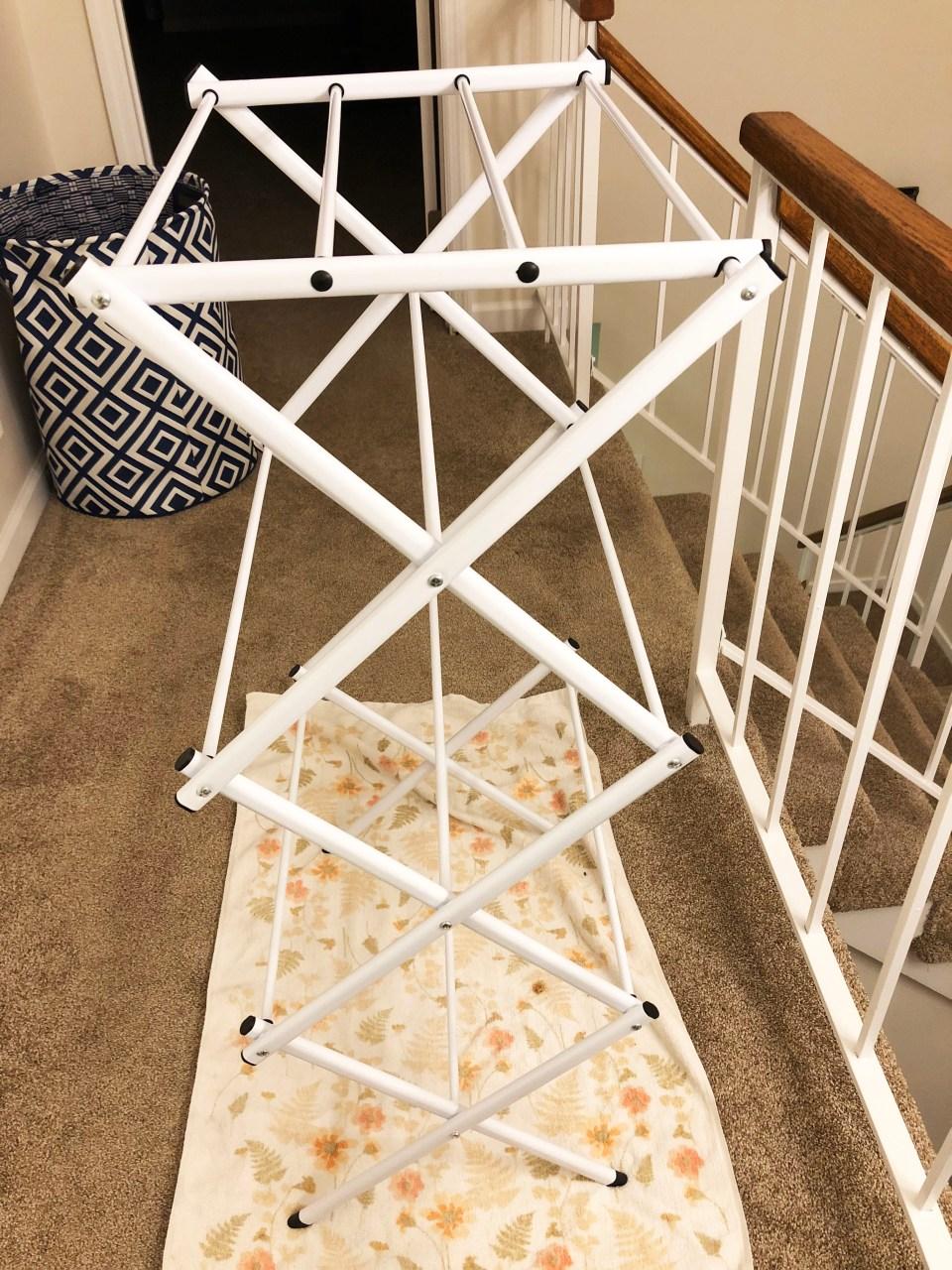 Folding Laundry Rack 1