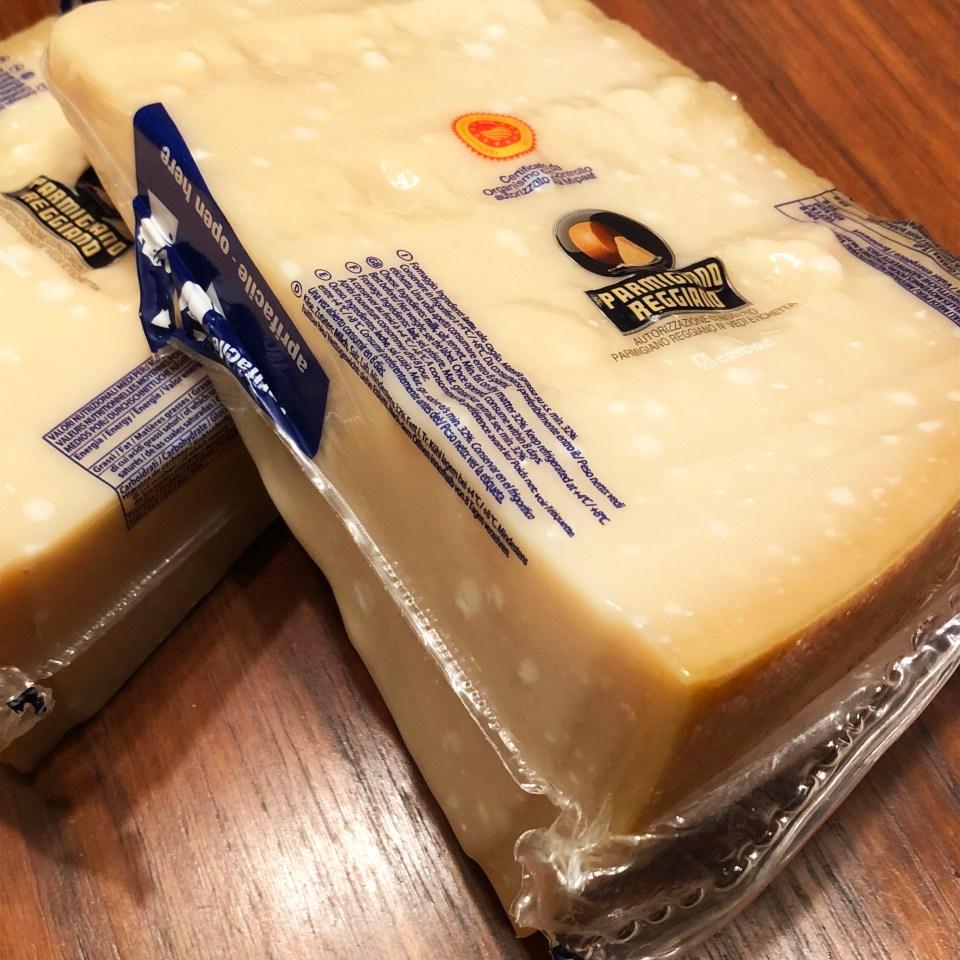 Parmigiano Reggiano Wedges 1