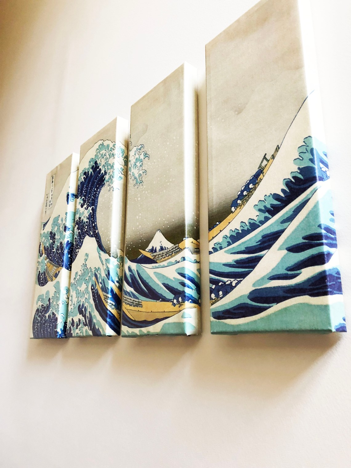 The Great Wave Off Kanagawa - Panel Art