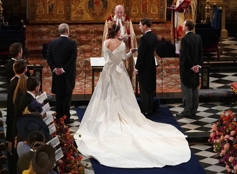 jack-brooksbank-and-princess-eugenie-of-york - wedding 1