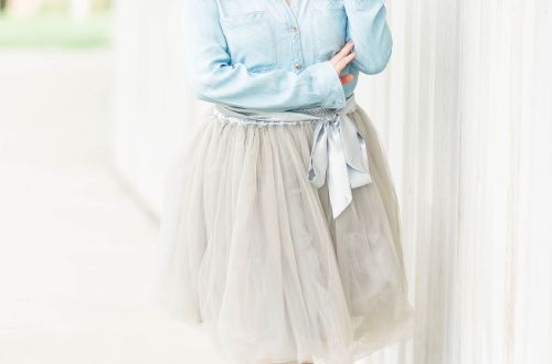 Chambray + Tulle