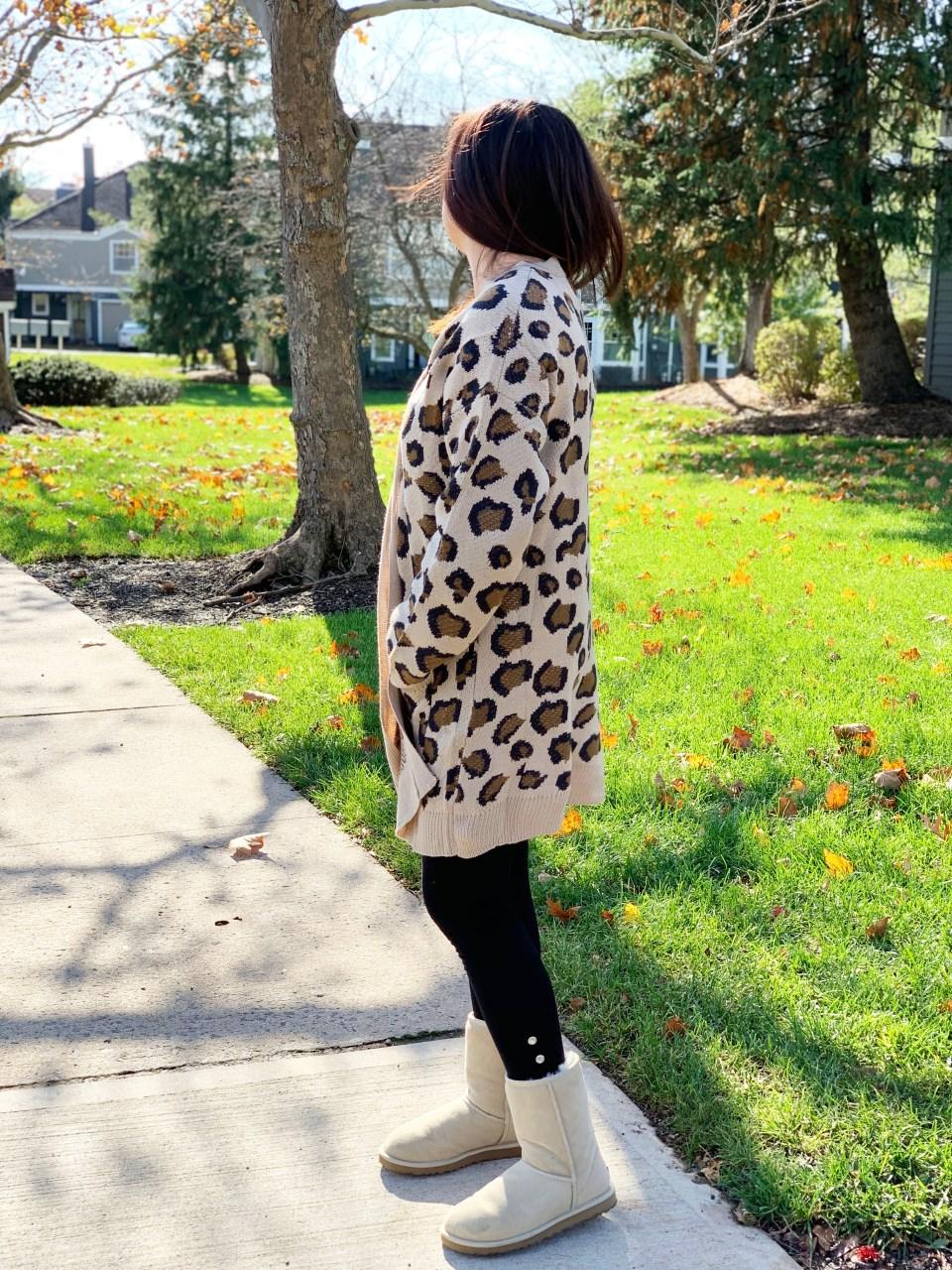 Leopard Cardigan 3